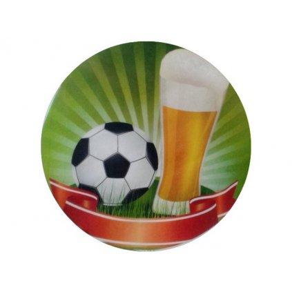 30648 jedly papir fotbalove pivo 20 cm