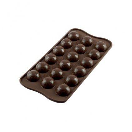 Silikonová forma na čokoládu – fotbalový míč