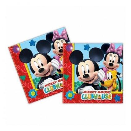 Papírové party ubrousky Mickey Playful 20 ks