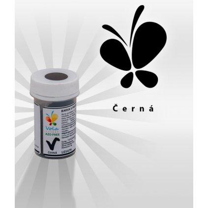 3881 barva v prasku do tuku do cokolad af cerna 3 g doza