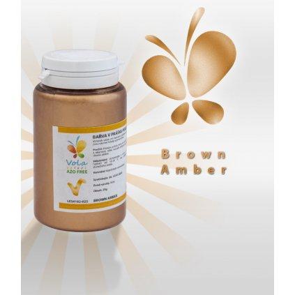 3941 barva v prasku perletova af bronzova amber 25 g doza