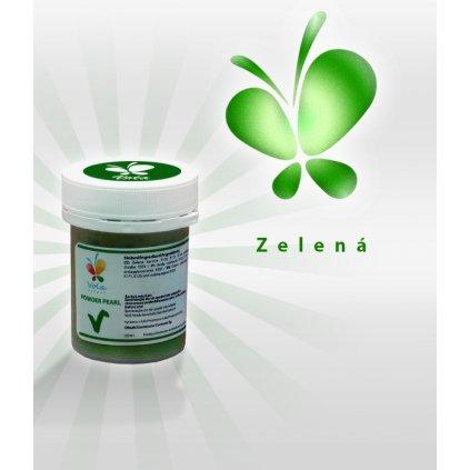 3974 barva v prasku perletova af zelena 5 g kelimek