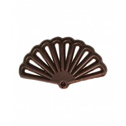 2762 cokoladove filigrany oriental vejir v 5 9cm horke 400 ks bal 1kg