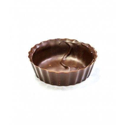 2852 cokoladove kosicky 2 tvary prum 5 v 1 8cm horke 240 ks bal 1300g