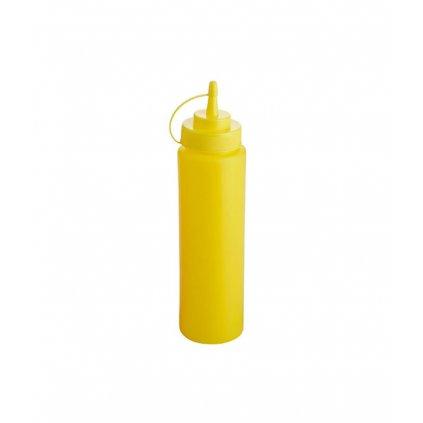 14444 davkovac biberon polyetylen zluty 240 ml