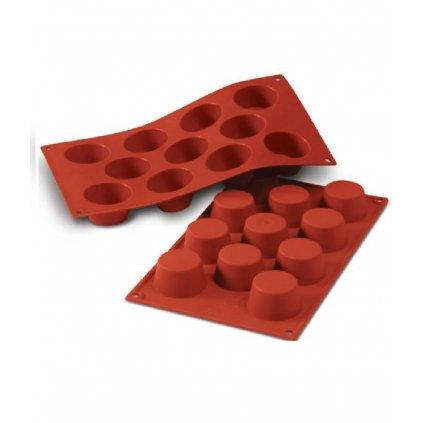 9758 forma silikonova 11ks muffin maly prum 5 1cm v 2 8cm