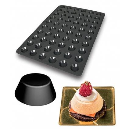 10076 forma silikonova 60ks mini tartelette prum 4 4 v 1cm