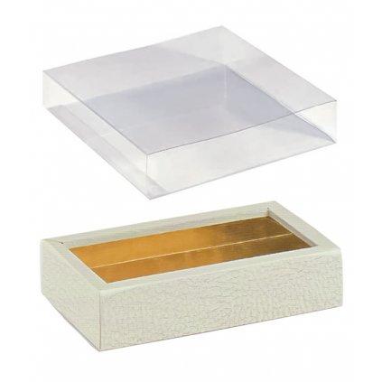 6287 krabicka rozdelovac v 25mm obal plast 145x75 kuze bila 10 ks bal