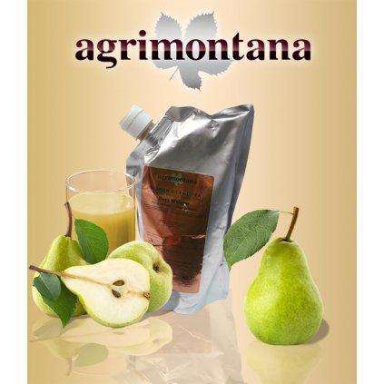 2150 ovocne pyre 90 prirodni hruska williams 1 kg aseptic bag
