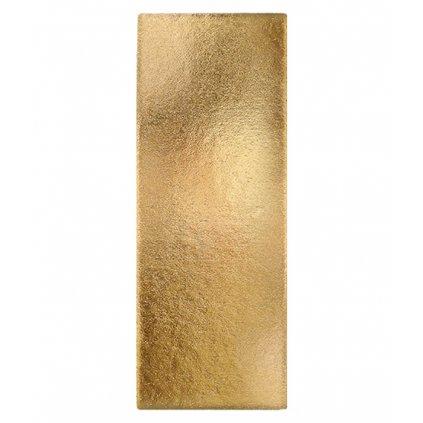 6947 podlozka papir zlata minidezert 12x5 5cm obdelnik 200 ks bal