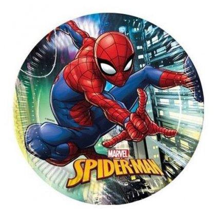 Papírové talíře Spiderman Team Up 23 cm - 8 ks
