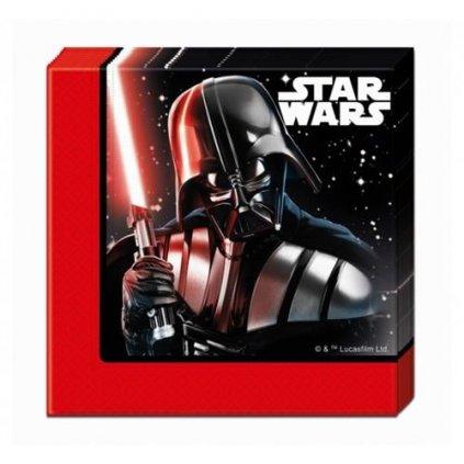 Papírové party ubrousky Star Wars - Final Battle 20 ks