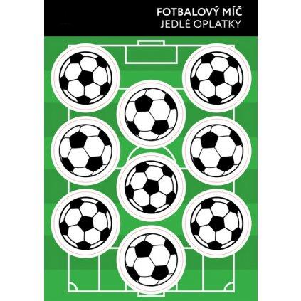 95840 jedly papir karta fotbalovy mic 9ks