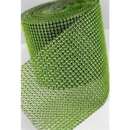 SLEVA 20%! Diamantový pás plastový zelený (5 cm x 3 m)
