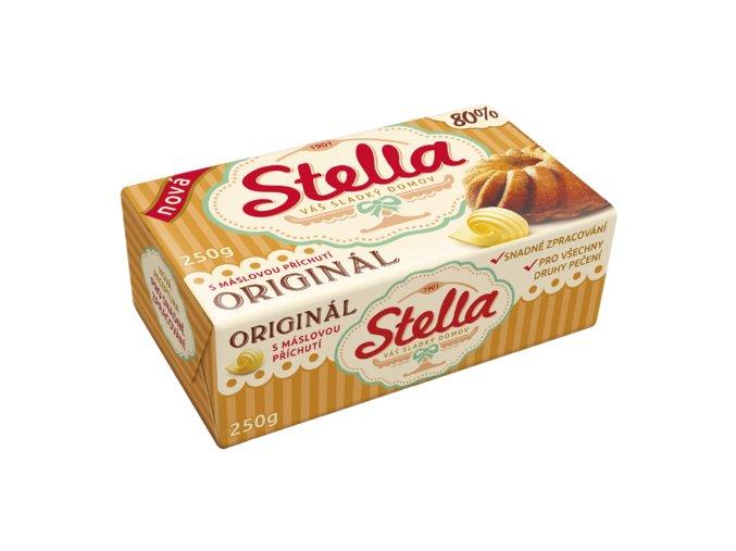 Stella ORIGINÁL s příchutí másla, na pečení 250g - KARTON 20KS