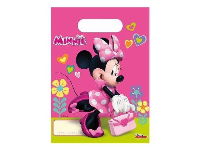 Party tašky Minnie Happy Helpers 6 ks