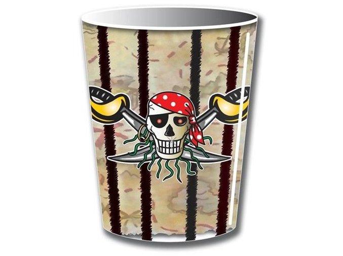 Party kelímky Red Pirate 8 ks