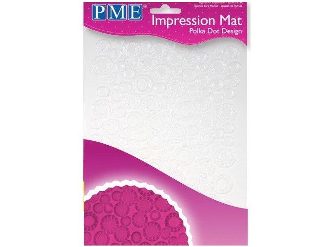 PME, Velká Británie Otiskovací podložka PME - Polka Dot