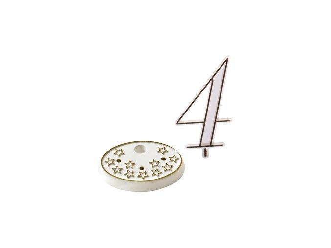 Modecor, Itálie Číslice na dort s podstavcem - 4