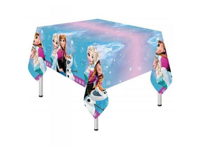 Plastový party ubrus Frozen - Severní záře 120 x 180 cm