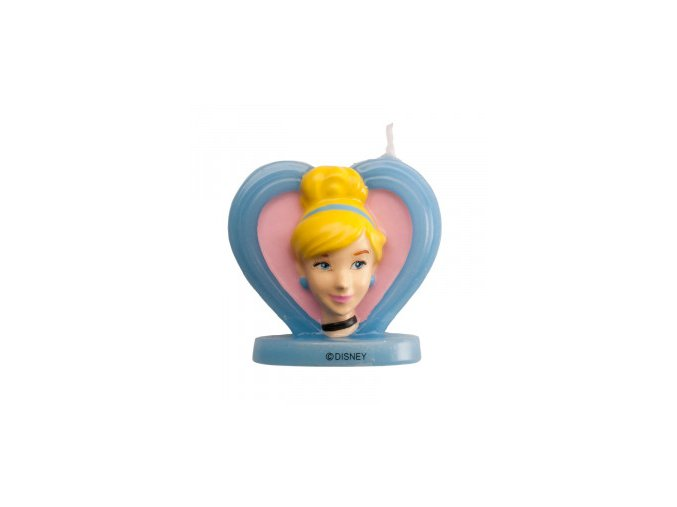 Dortová svíčka - princezna Popelka