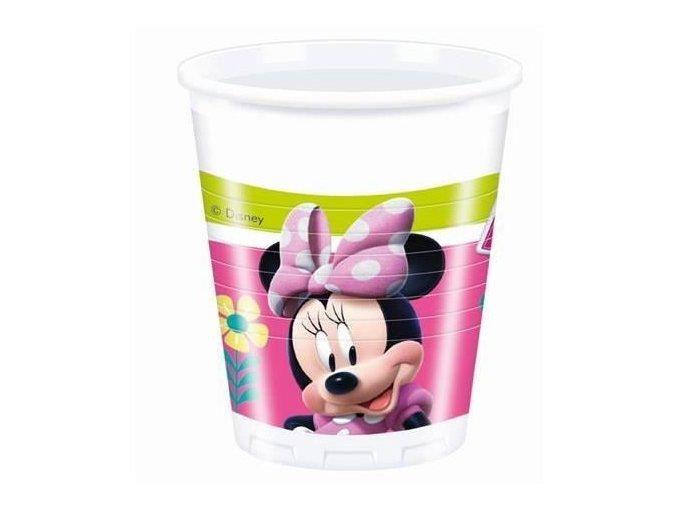 Plastové kelímky Minnie Happy Helpers 8 ks