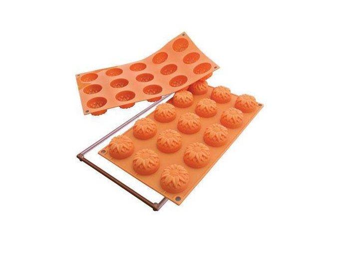 Silikonová forma na dortíky – slunečnice
