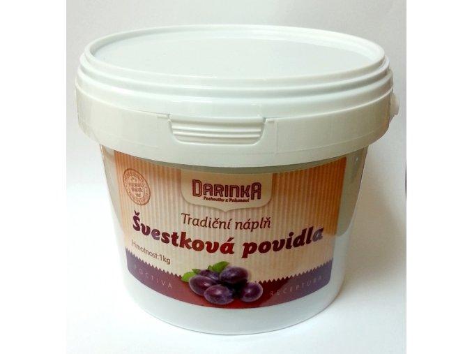Švestková povidla, tradiční náplň Darinka (1 kg)