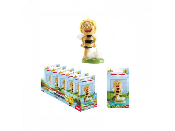 maya the bee flower candle 8cm
