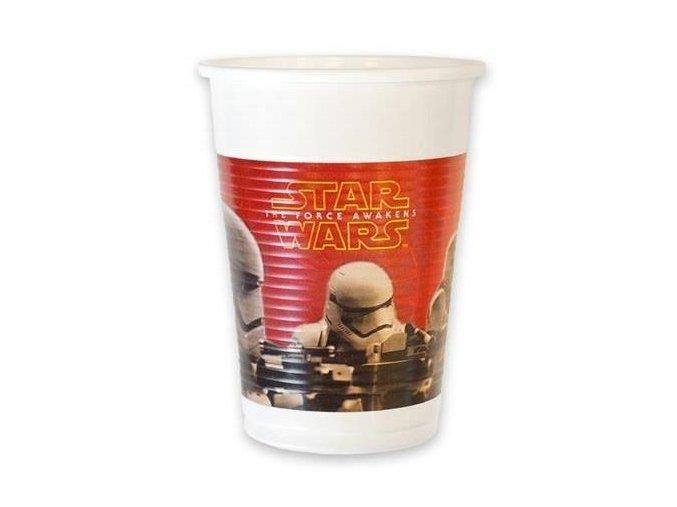 Plastové kelímky Star Wars The Force Awakens 8 ks