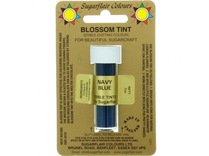 sugarflair colours navy blue blossom tint dusting colour 7ml vial p1803 7356 image
