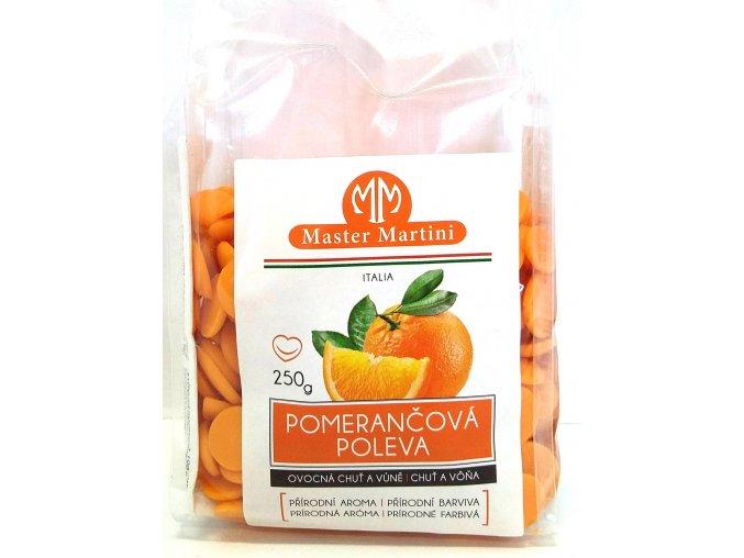 Poleva Centramerika, Master Martini 250g - pomerančová