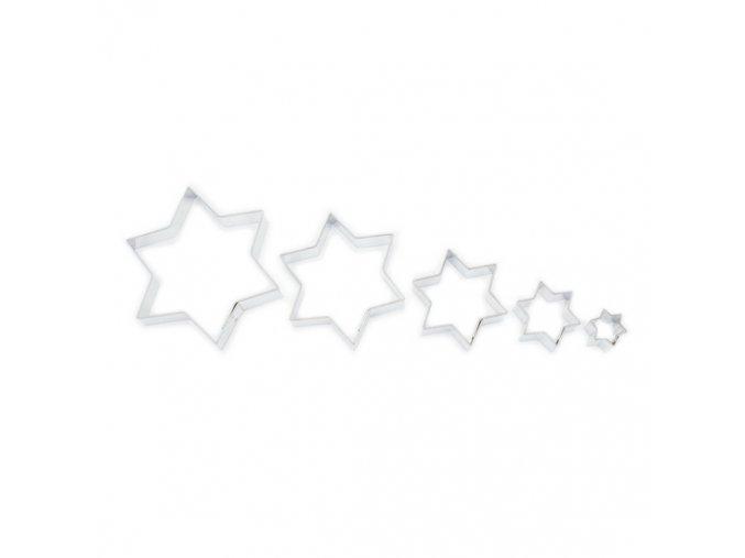 Vykrajovátka hvězdičky hladké