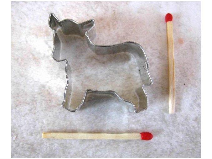 Vykrajovátko: Kravička 3,3 x 4,2 cm