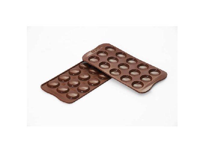 Silikonová forma na čokoládu – makronky