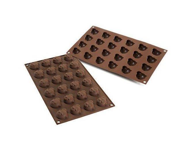 Silikonová forma na čokoládu – panda