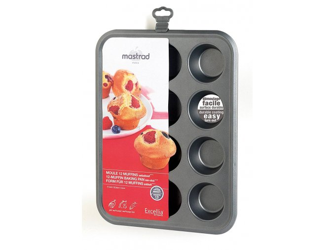 Plech na muffiny 37,2x28,8cm - Mastrad