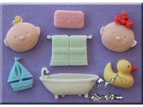 AM0033 Silikonová forma Dětská koupel