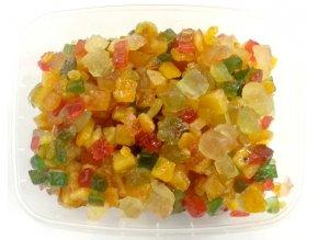 Kandované ovoce mix (kostky) 100 g