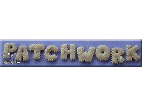 AM0170 Silikonová forma Patchwork abeceda velká