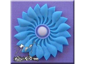 AM0124 Silikonová forma Ornament na muffin Květina