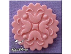 AM0094 Silikonová forma Ornament na muffin vzor 7