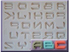AM0236 Silikonová forma Sci-fi abeceda velká
