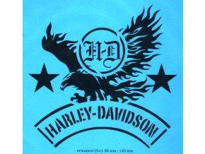 Stencil Harley orlice