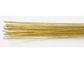 Culpitt Aranžovací drát č. 24 zlatý - 50 ks