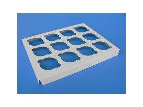 Papírová vložka na 12 ks muffinů (32,5 x 25,5 x 2,5 cm)