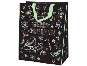 Alvarak nákupní taška Merry Christmas