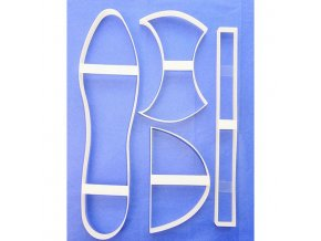 Designer Art Cakes vykrajovátka na dámskou botu (4 ks)