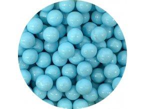 Čokoládové perly světle modré 9 mm (200 g)