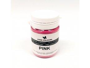 Prášková barva do čokolády Food Colours Pink (10 g)